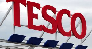 Tesco is set to cut 15,000 jobs in their UK stores. No comment has been made in relation to their Irish outlets. File photograph: Rui Vieira/PA Wire