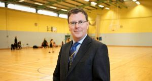 Mark Ronan, the new headmaster of King's Hospital school in Dublin. Photograph: Chris Bellew/ Fennells