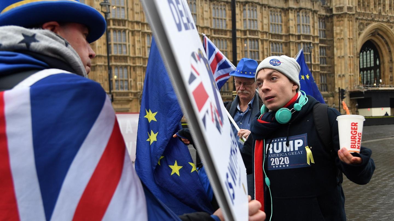 BREXIT Hoodie EU Vote Leave Referendum Bremain European Union Politics