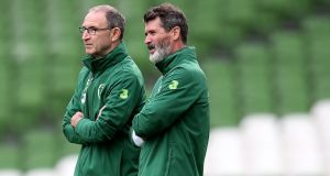 Roy Keane will join Nottingham Forest as Martin O'Neill's number two. Photograph: Bryan Keane/Inpho