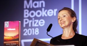 Man Booker Prize: the Belfast writer Anna Burns won the 2018 award. Photograph: Frank Augstein/Pool/Getty