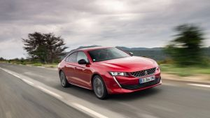 The Peugeot 508 boasts  muscle car menace and a premium quality interior