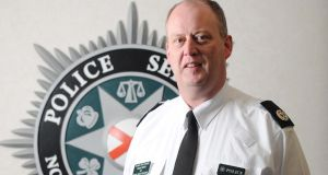 George Hamilton, Chief Constable PSNI. Photograph: PA story