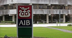 AIB has operated a debit and credit cards transactions joint venture called First Merchant Processing (Ireland) Limited (FMBI), trading as AIB Merchant Services, since 2007. Photograph: Eric Luke