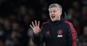 "Ole Gunnar Solskjaer: ""We've got the Champions League, we've got the FA Cup, we can't just say top four and that's it."" Photograph: Hannah McKay/Reuters"