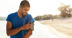 If it helps, turn to podcasts, music or audiobooks to distract you over the blips. Photograph: iStock