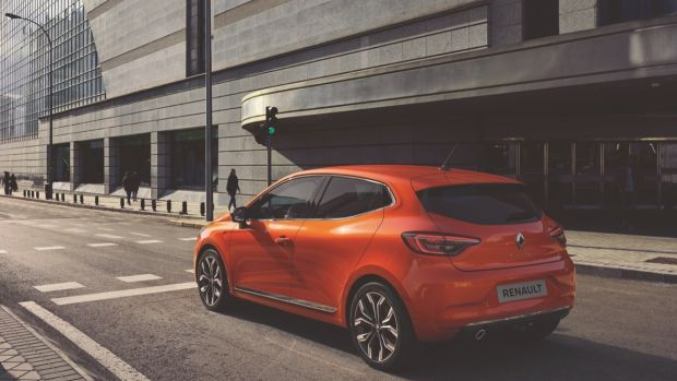 Renault Clio: The exterior style is somewhat predictable but the interior looks like a significant upgrade. Photograph: Renault