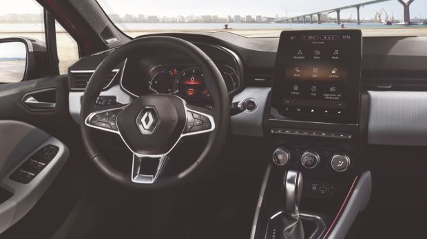 Renault Clio: it's 14mm shorter and 30mm lower than the outgoing car. Photograph: Renault