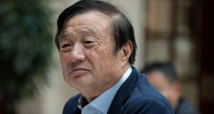 "Ren Zhengfei, founder and CEO of Huawei. China called on Washington on Tuesday to ""stop the unreasonable crackdown"" on Huawei following the tech giant's indictment in the US. Photograph: Vincent Yu/AP"