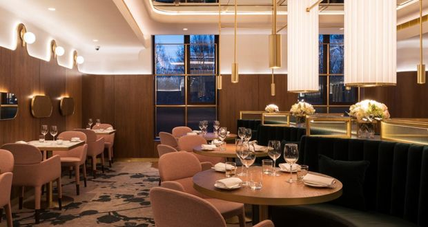 The five-star Fitzwilliam Hotel has a special Valentine's Day menu