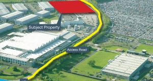 2.31 acres at Baldonnell Business Park in Dublin 22