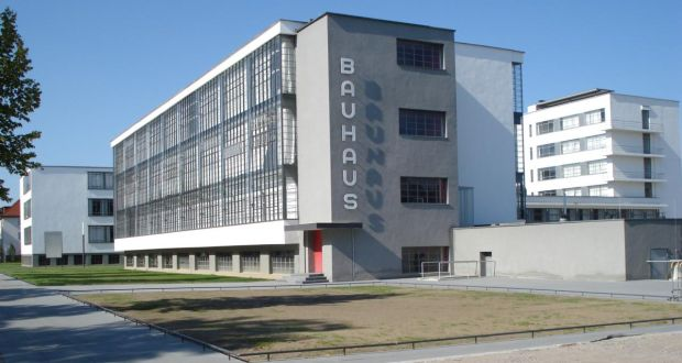 A building commissioned by the city of Dessau and designed by the founder of the Bauhaus, Walter Gropius.