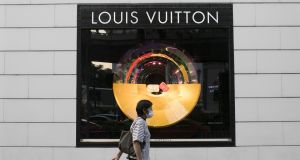 A Louis Vuitton store in Bangkok.