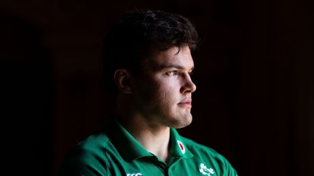 "Jacob Stockdale: ""I wouldn't say it is boring. To be honest, I'm incredibly excited about getting stuck into the Six Nations again."" Photograph: Bryan Keane/Inpho"