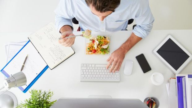 Corporates are becoming more aware of the role food plays in employee wellbeing. Photograph: iStock