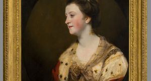 The portrait of Lady Emily FitzGerald was painted by Joshua Reynolds when she was 43.The painting originally hung in the dining room of Carton House, Co Kildare, and is now displayed in Castletown House, formerly home of another sister, Lady Louisa Conolly