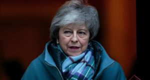 British prime minister Theresa May has been gifted an unlikely pairing of Remainers and Brexiteers within her own party. Photograph: Jack Taylor/Getty