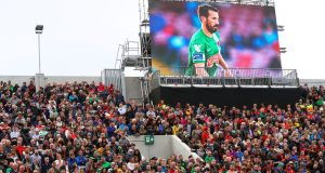 The clamour to move the Liam Miller tribute match from Cork City's soccer ground to Páirc Uí Chaoimh in order to benefit from the far greater capacity placed the GAA in a difficult situation. Photograph: Inpho