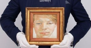 'A jewel of a painting': Lucian Freud's Head of a Boy, a portrait of the young Garech Browne. Photograph: Sotheby's