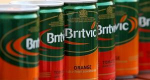 Revenue at Britvic rose 4.5% to £352.4m  in the first quarter