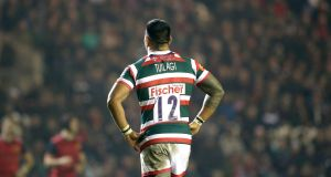 Leicester's Manu Tuilagi has been named in the England side to face Ireland on Saturday.  Photograph: Dan Sheridan/Inpho