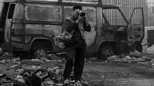 Photographer Martin Nangle. Photograph: Pacemaker Belfast-archive