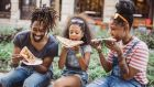 Each family is different and what matters is that most days you have this connecting time with your children. Photograph: iStock