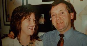 Arlene and her Dad, Aidan O'Beirne