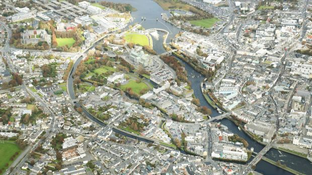 Nun's Island in Galway city. Options include an innovation space for businesses or a cultural space that would tie both the community and the university