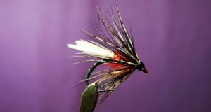 The Duckfly – one of the first fly hatches of the season. Tied by Jimmy Tyrrell (irishflycraft@gmail.com).
