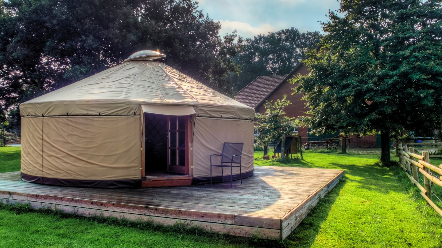Do I need planning permission to erect a yurt in my garden?