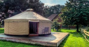 Could the yurt be the answer to an overflowing house?