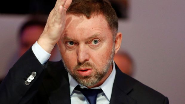 Russian Oligarch Oleg Deripaska, owner of Rusal, which controls Aughinish Alumina, pictured in 2015. Photograph: Reuters/Ruben Sprich