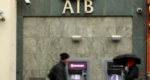 AIB is working to cut its level of bad loans towards the EU average of 3.4 per cent. Photograph: Julien Behal/PA Wire