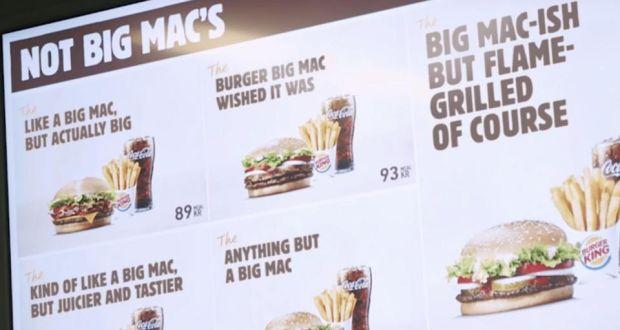 burger king case analysis