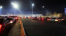 The San Ysidro border crossing sees more than 70,000 vehicles cross north into the United States every day