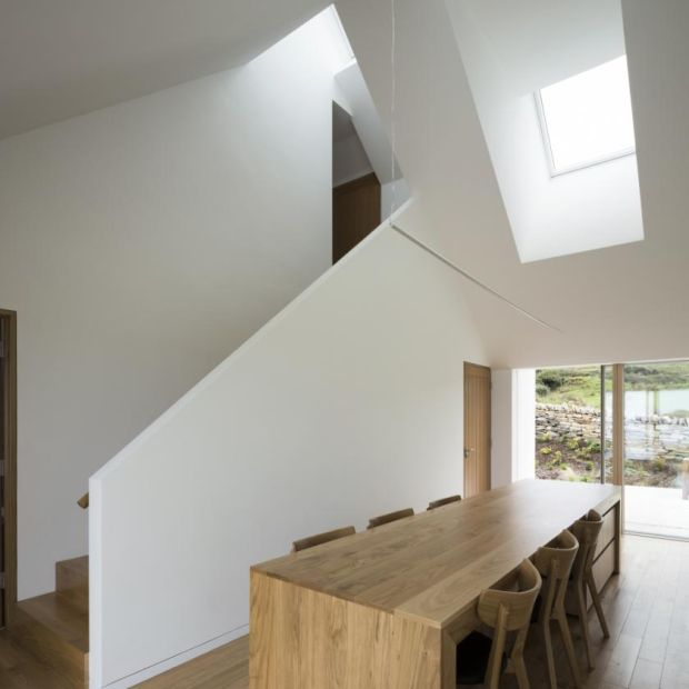 Minimalist: the Donegal home designed by Jim and Eilish Walsh's son