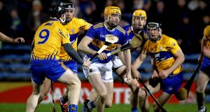 Seamus Callanan: looked extremely sharp in Tipperary's opening league victory over 14-man Clare at Semple Stadium. Photograph: Ryan Byrne/Inpho
