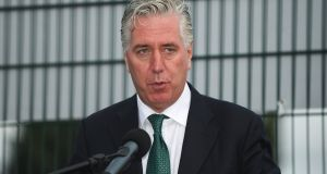 John Delaney: the FAI chief executive is currently midway through his 18th year as a director with the association. Photograph: Eoin Noonan/Sportsfile