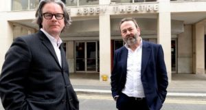 The Abbey Theatre's directors, Graham McLaren and Neil Murray. File photograph: Cyril Byrne