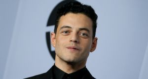 "Rami Malek: ""My situation with Bryan  was not pleasant...  And that's about what I can say about it at this point.""  Photograph: Jean-Baptiste Lacroix/AFP/Getty Images"