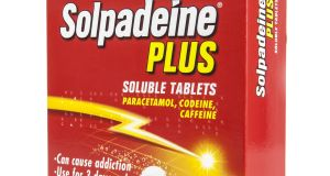 Solpadeine is one of the codeine-containing products affected by the restrictions. Photograph: iStock