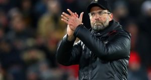 "Liverpool manager Jurgen Klopp: ""We will be ready for the Champions League and a very, very tough game."" Photograph: Clive Brunskill/Getty Images"