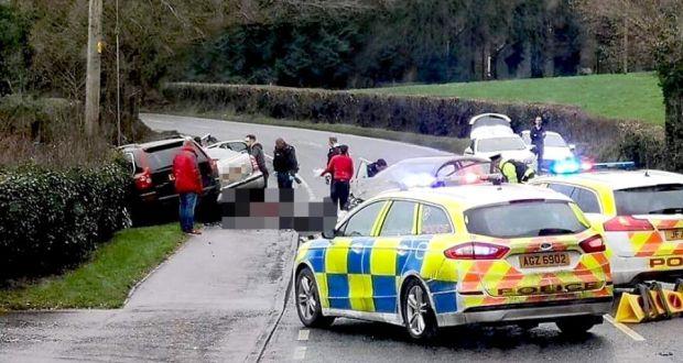 Two dead following three car traffic collision in Co Tyrone