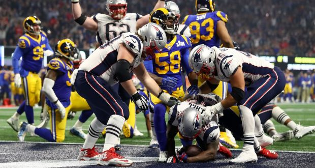 2e03c4c8 Patriots topple Rams for sixth Super Bowl title in 18 years