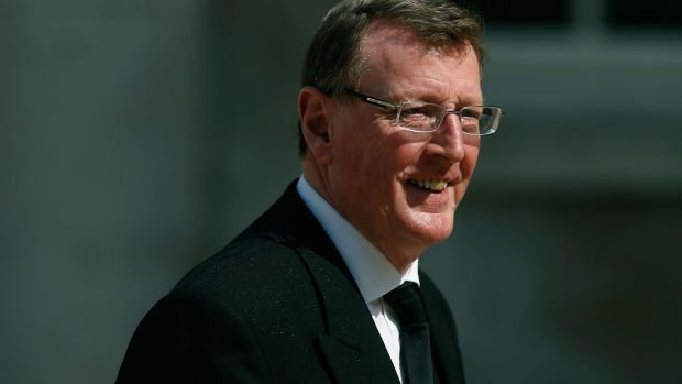 Former first minister of Northern Ireland David Trimble said alternative arrangements should be made instead of the Border backstop included in the Brexit withdrawal agreement. File photograph: Matthew Lloyd/Getty Images