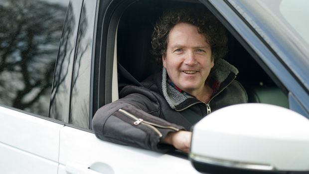 Diarmuid Gavin and his Land Rover Discovery Commercial