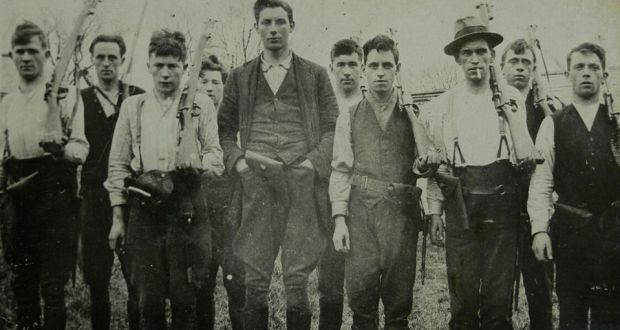 Young IRA men during the Irish War of Independence