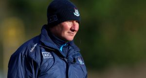 Dublin manager Jim Gavin is looking forward to the challenge of facing Tralee on Saturday night. Photograph: Tommy Dickson/Inpho