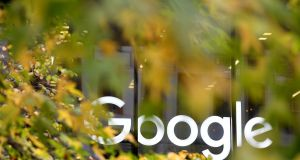 Google's parent company Alphabet reported  sharply higher fourth-quarter spending on video content, employees and facilities. Photograph: Toby Melville/Reuters
